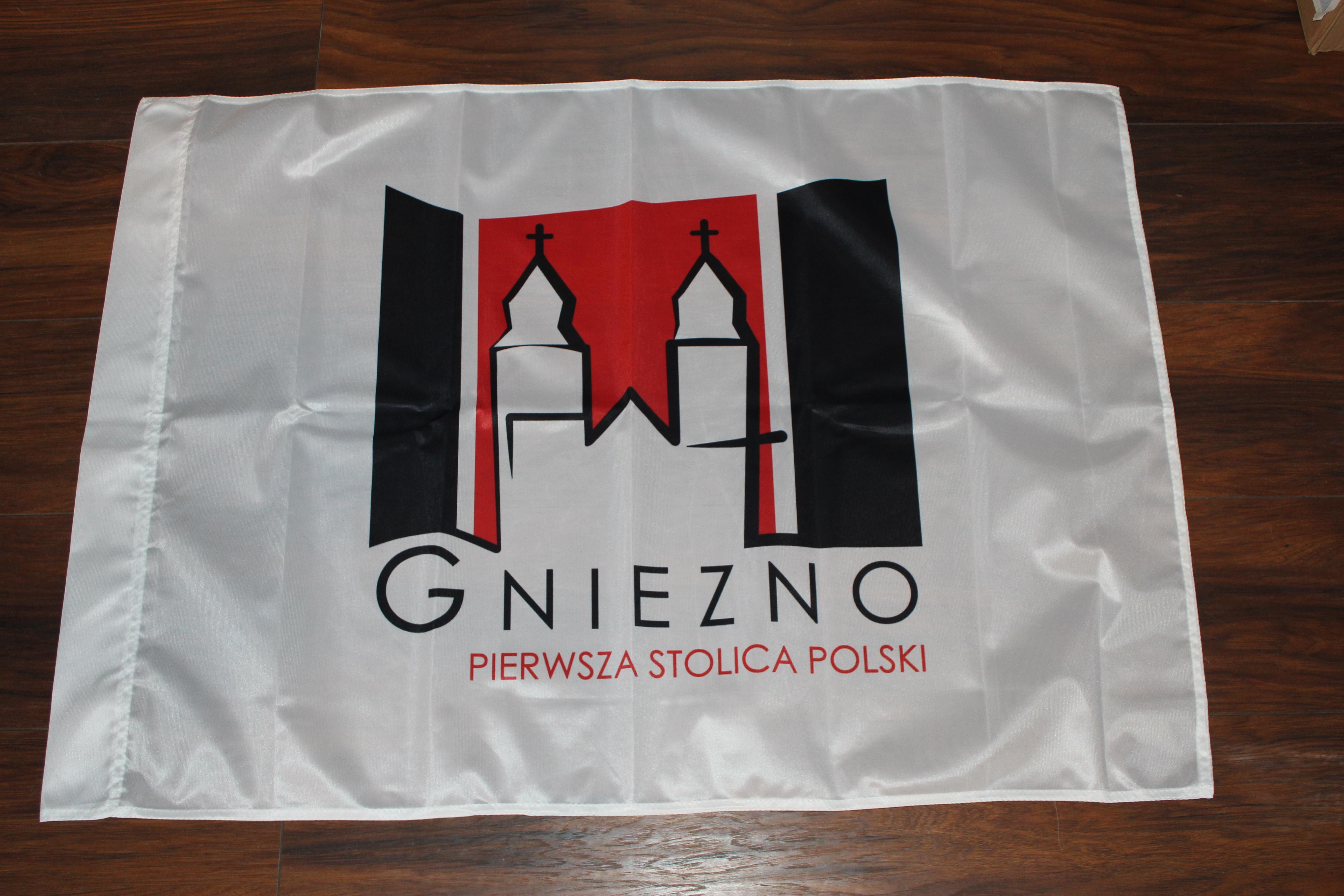 FLAGI MIASTA Gniezno