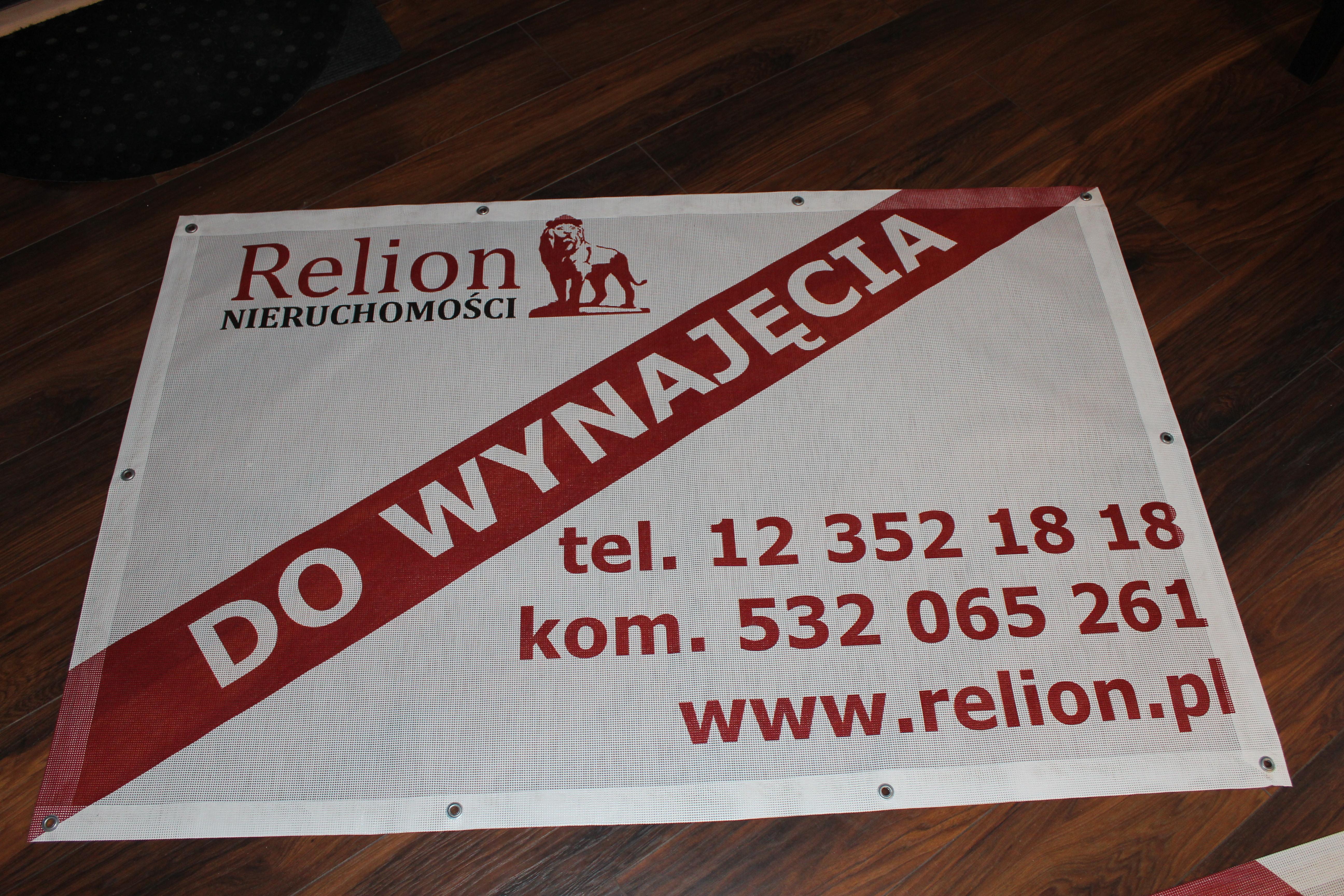 druk bannerów