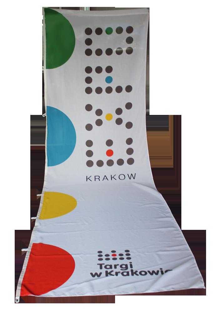 flaga targi expo krakowa maly na strone