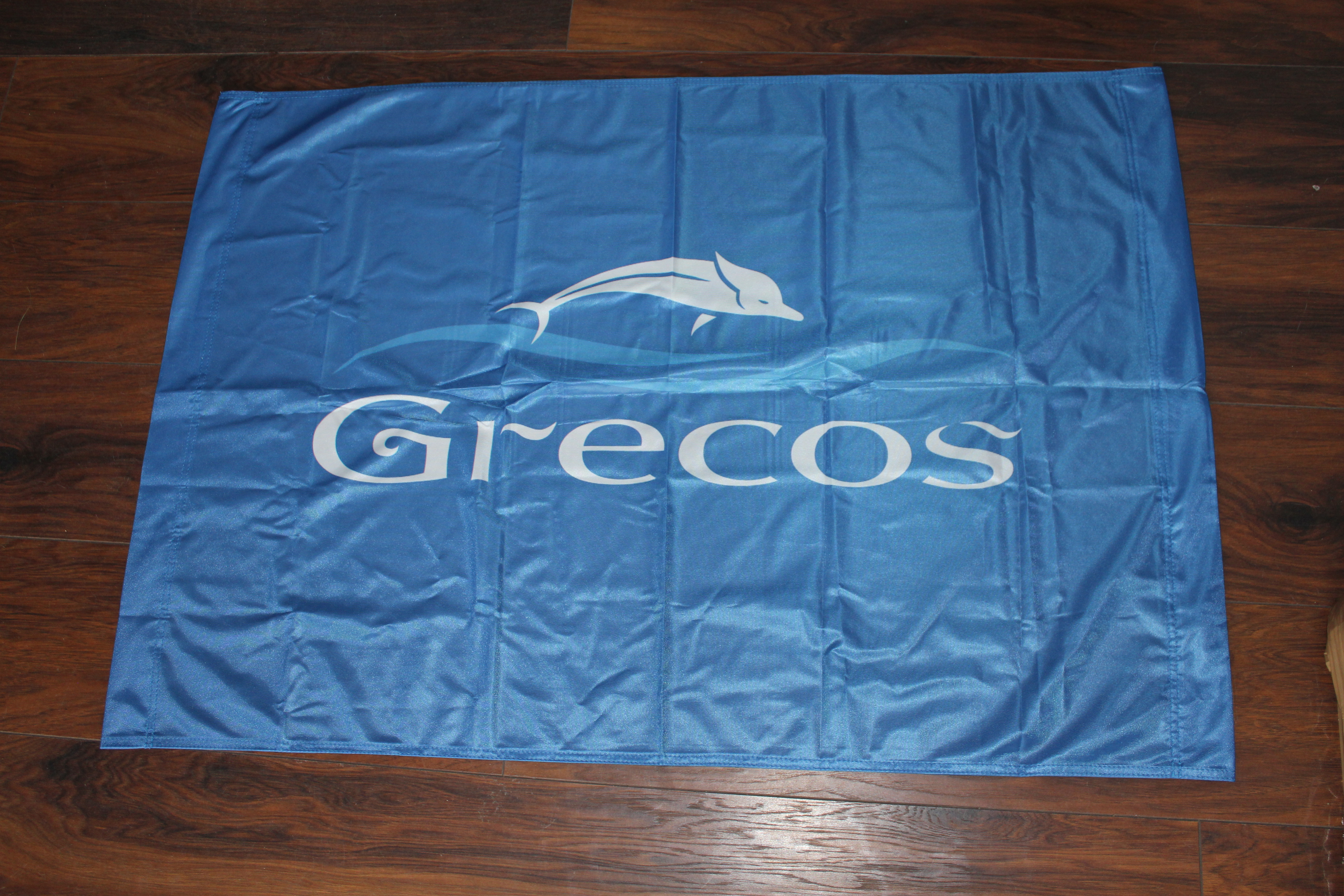 flagi reklamowe dla biur podrózy - GRECOS