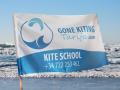 flagi dla szkół surfowania.