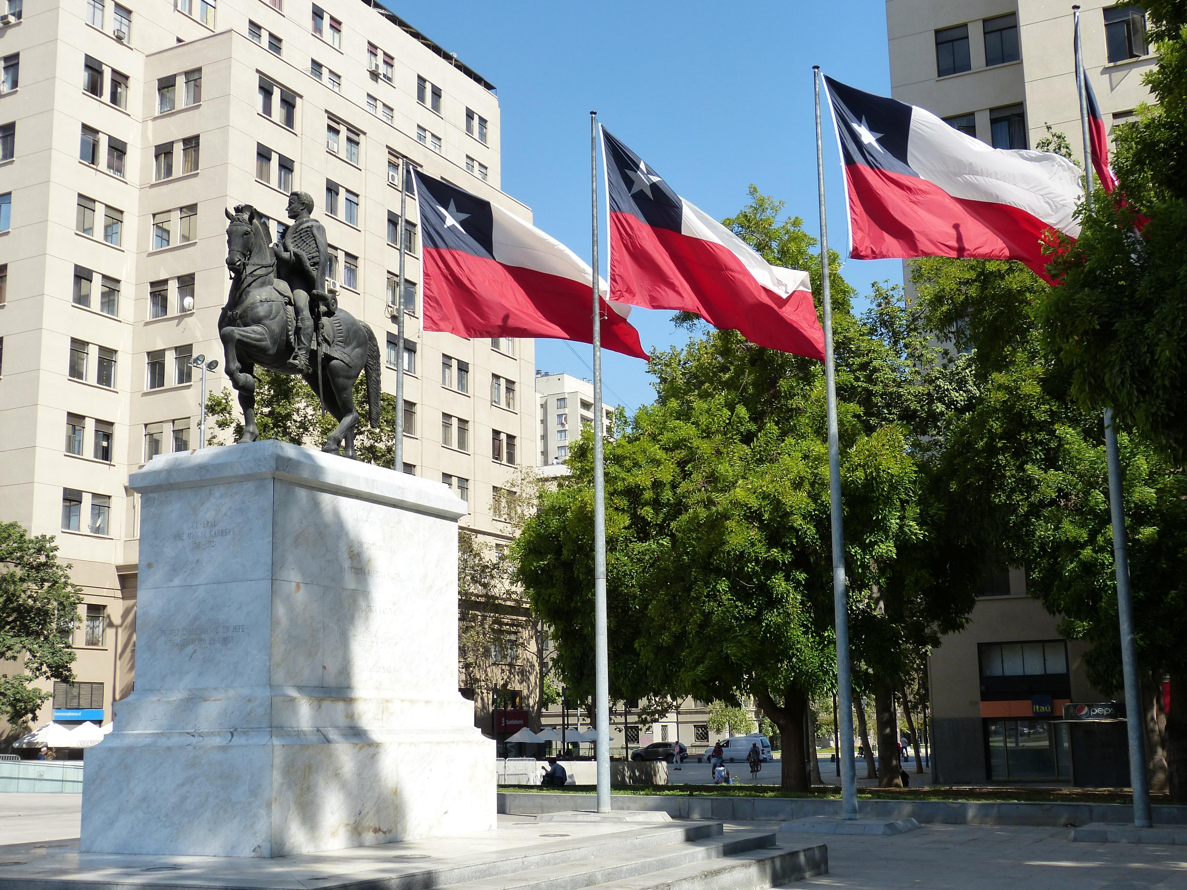 flagi państwo chile