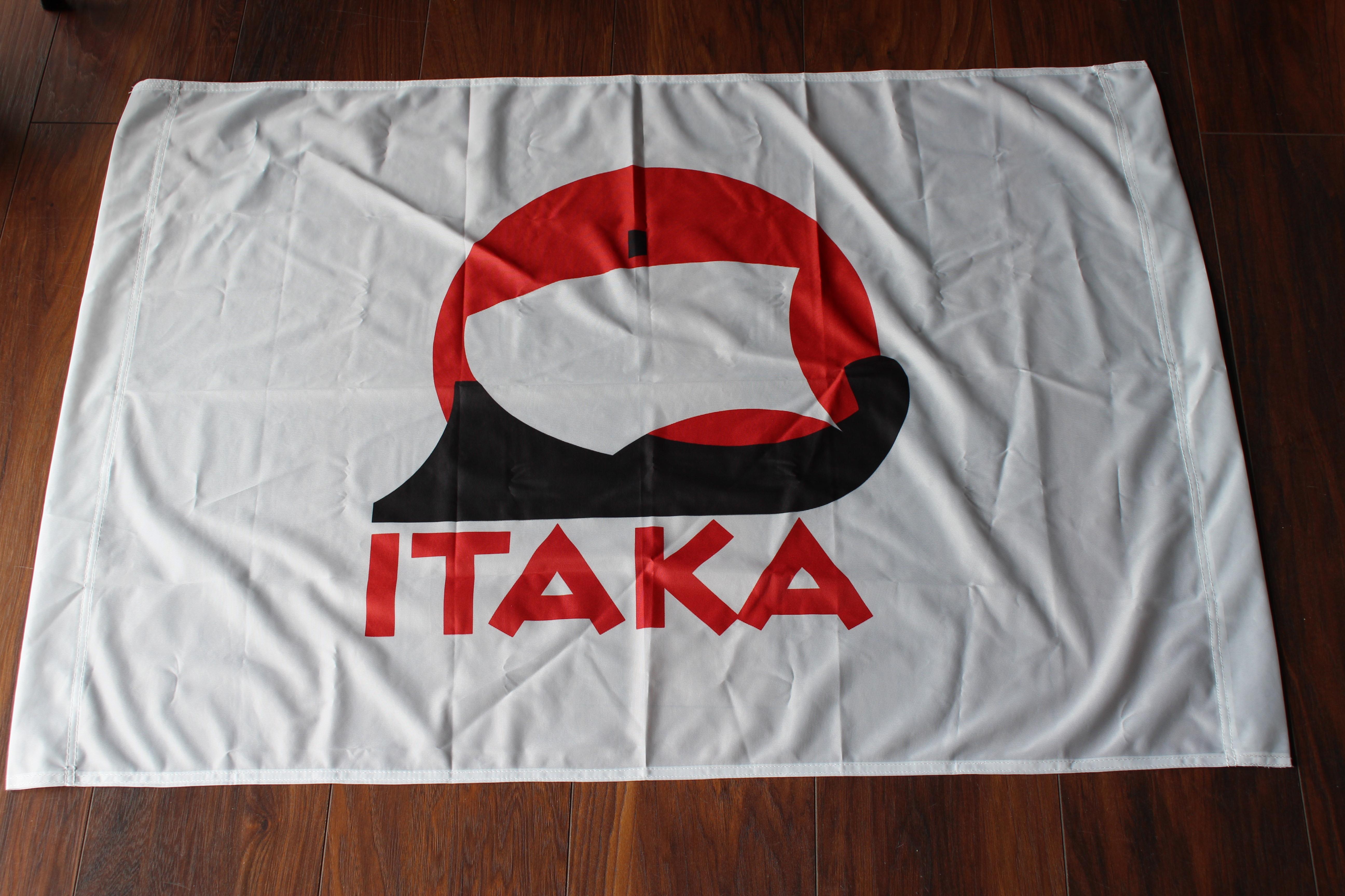 flagi reklamowe dla biur podróży itaka