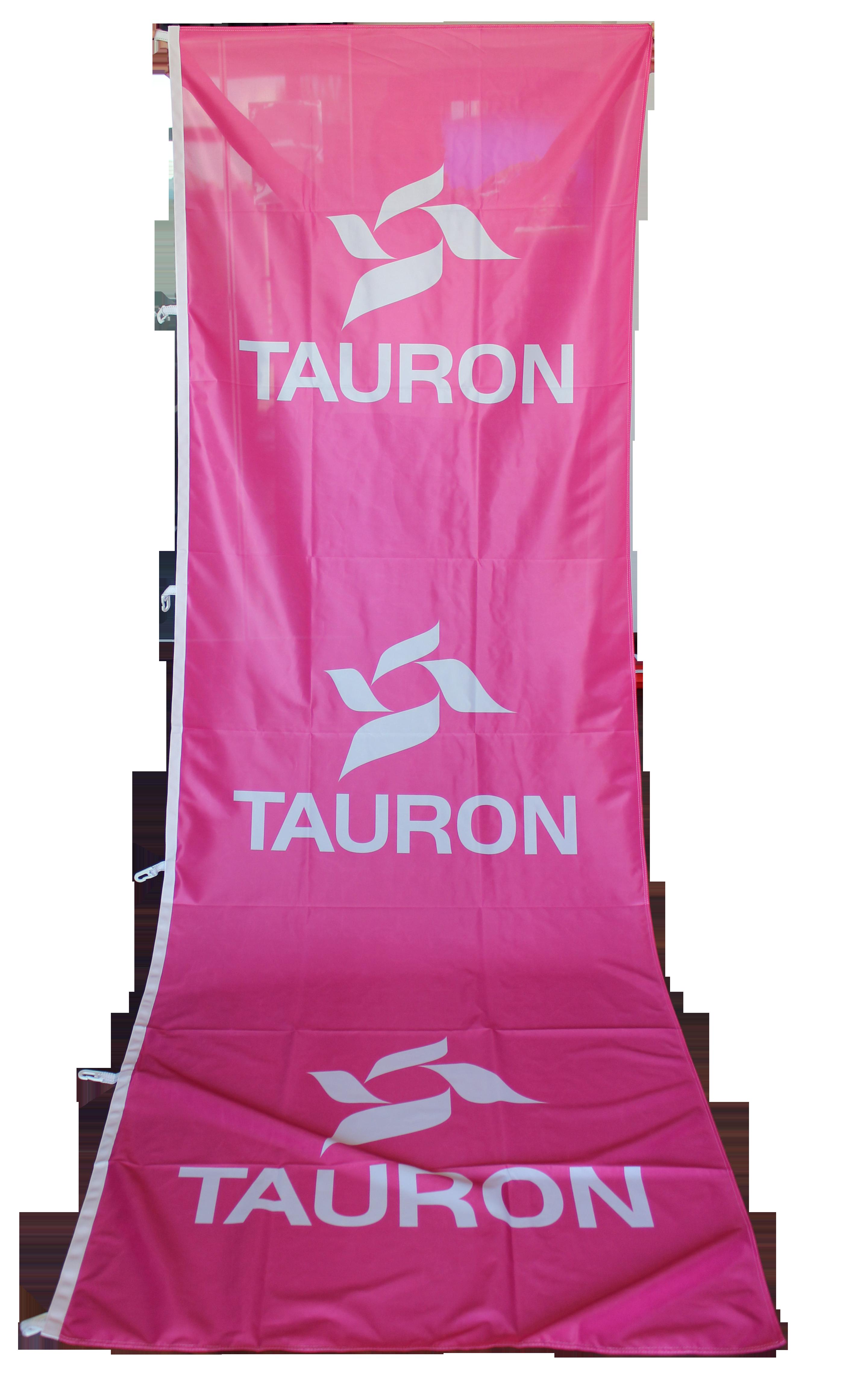 flagi reklamowe tauron