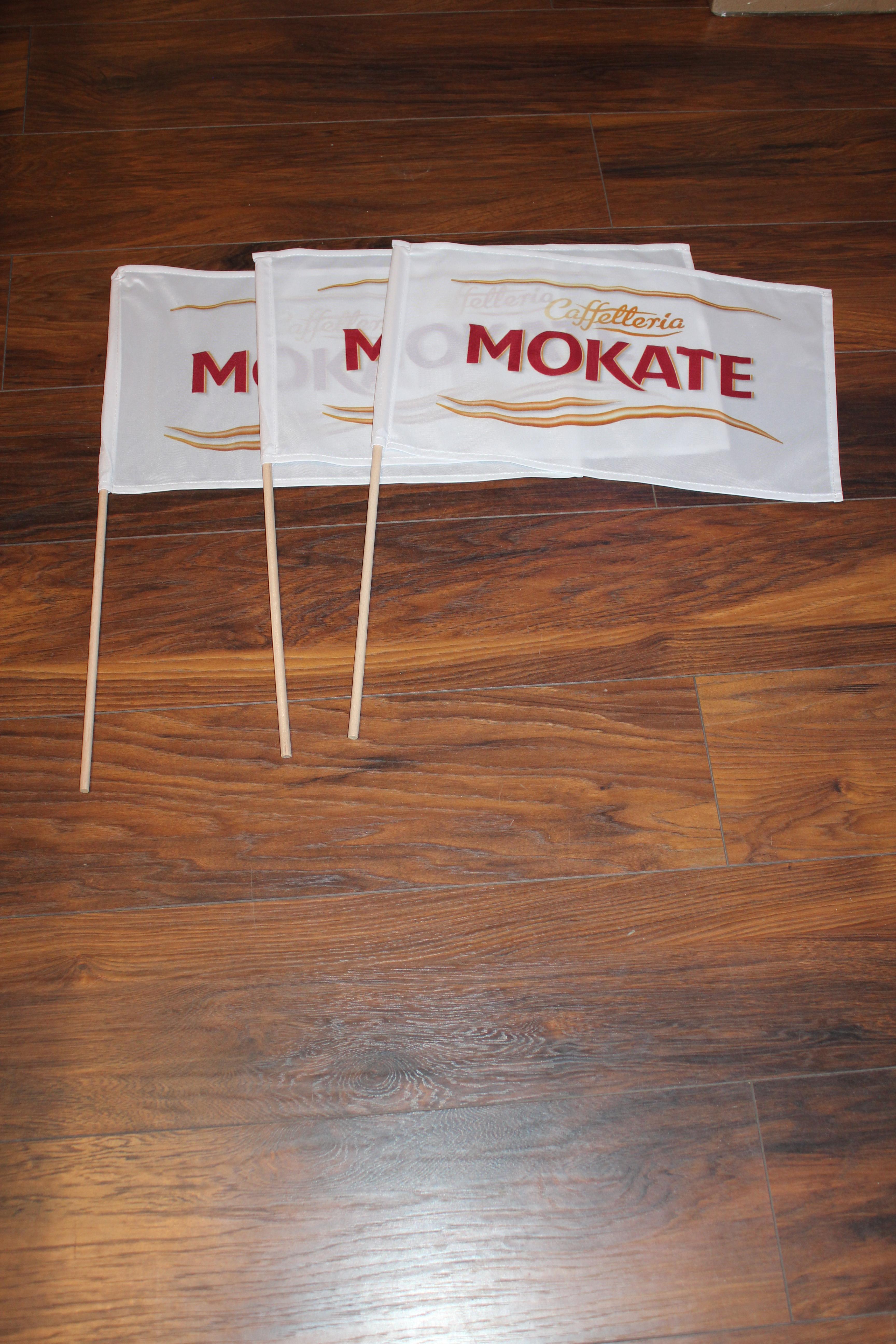 flagi reklamowe z patyczkami