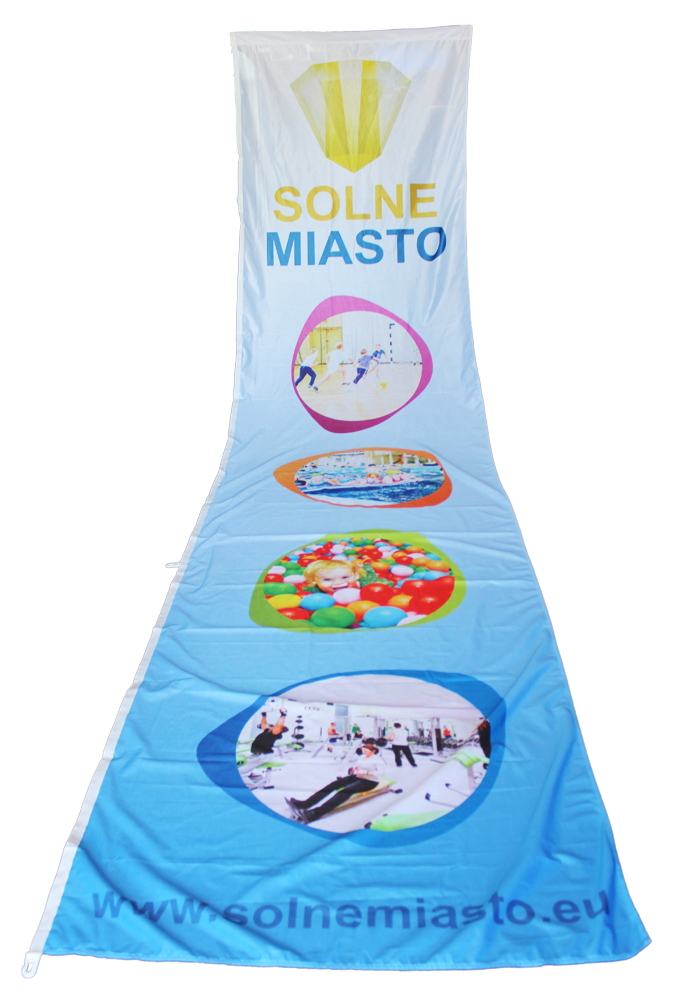 flagi reklamowe SOLNE-MIASTO-