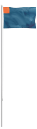 Maszt Aluminiowy Składany - Standard